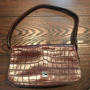 Dooney & Bourke Crocodile Print Handbag
